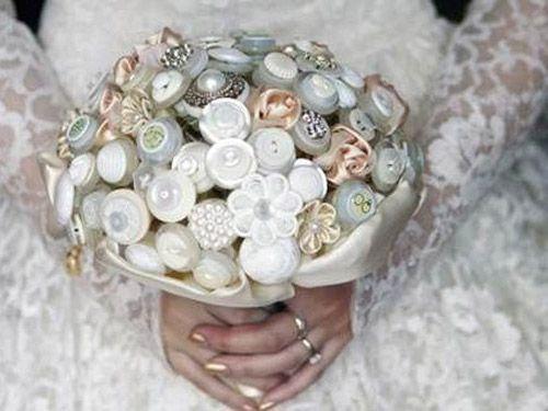 Ramos hecho con joyas y bisuteria