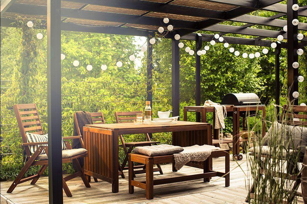 muebles de exterior para jardin o terraza