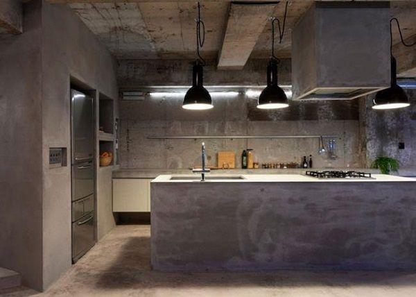 Cocinas De Obra Industrial 02