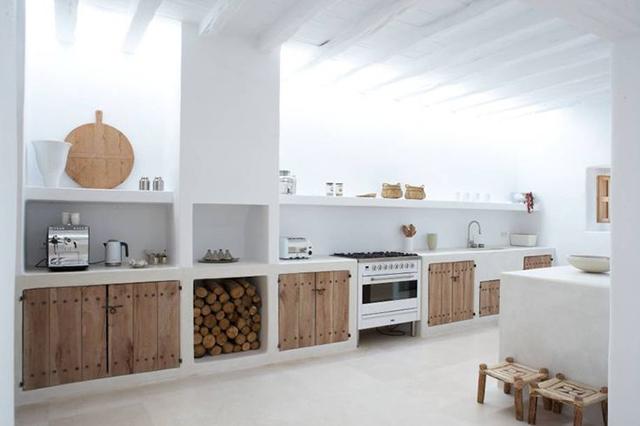 cocinas de obra minimalistas