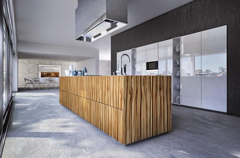 cocina acabados modernos