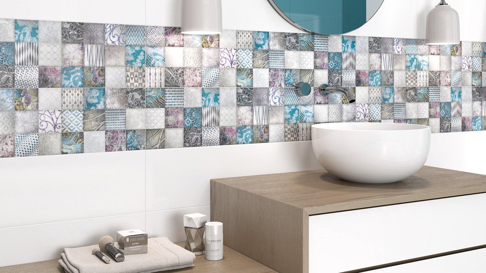decoración de baldosas de baño Decoración de baños Tendencias 2017 todo lo que debes saber