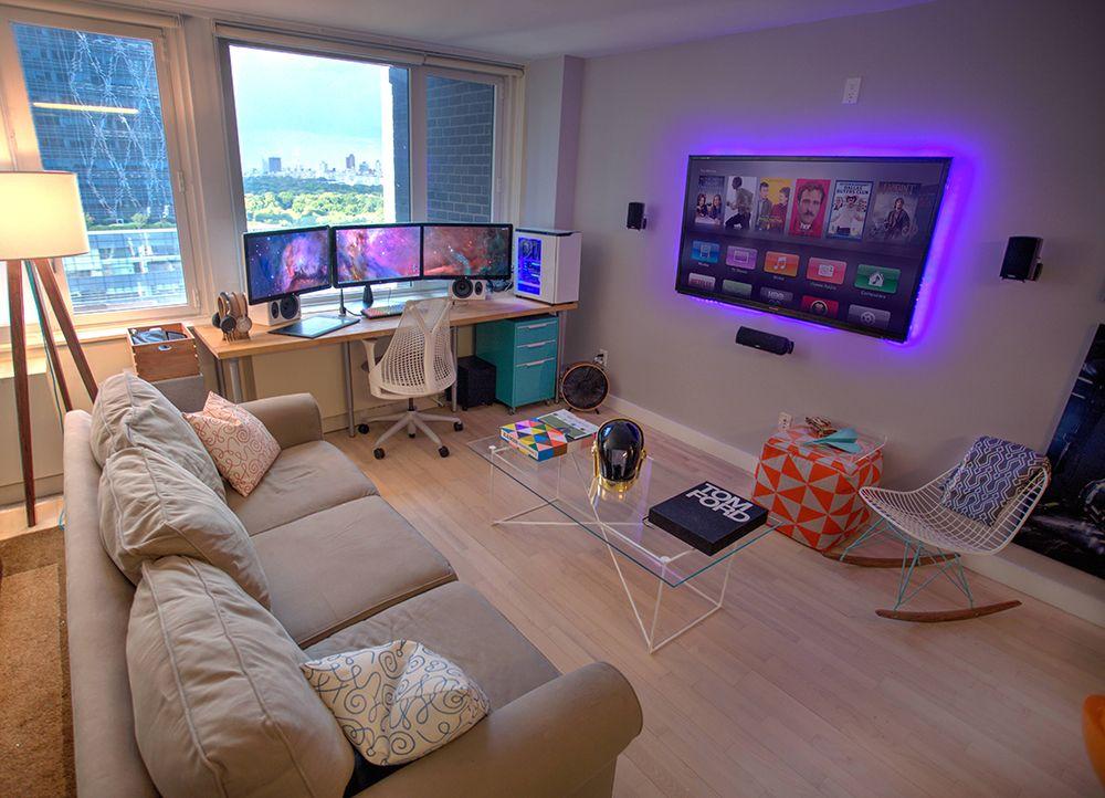 habitacion gamers gaming 01