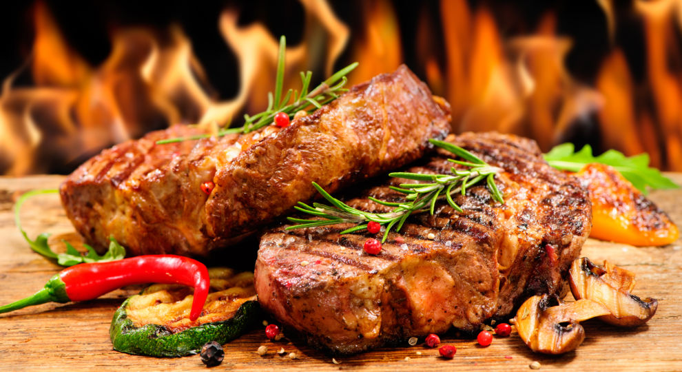 Receta rapida de carne al carbon para Barbacoa