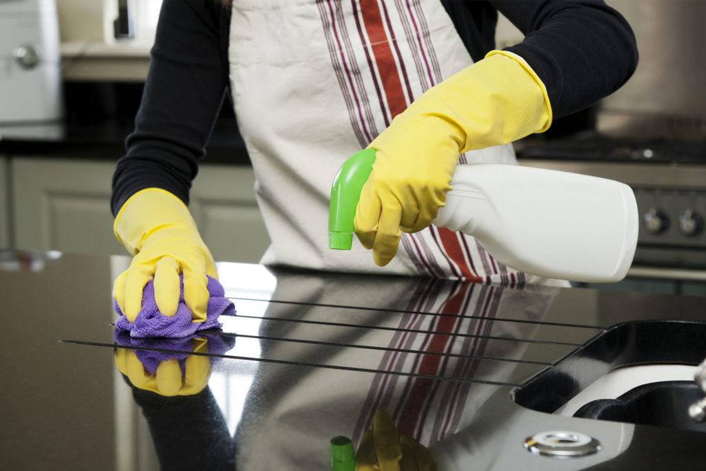 limpiar una cocina a fondo