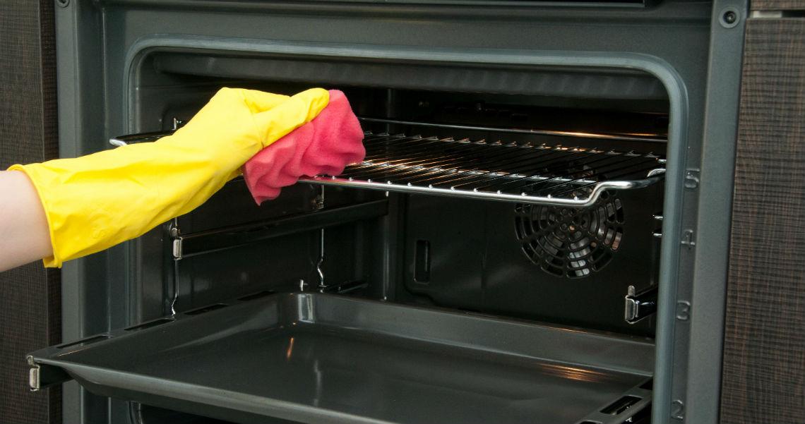 limpieza de horno a fondo
