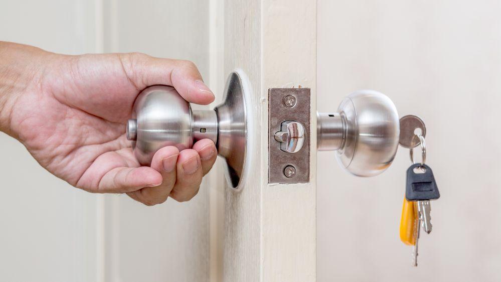 abrir una puerta con radiografia