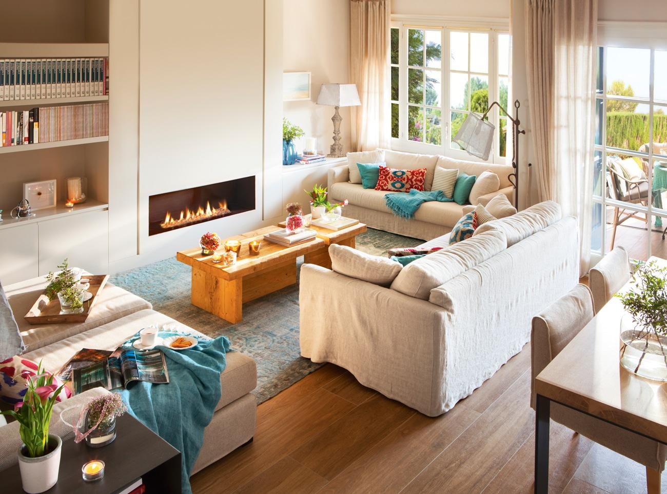20 trucos para decorar tu salón + Galería de Ideas