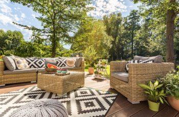 ideas para decorar mobiliario de jardin 21
