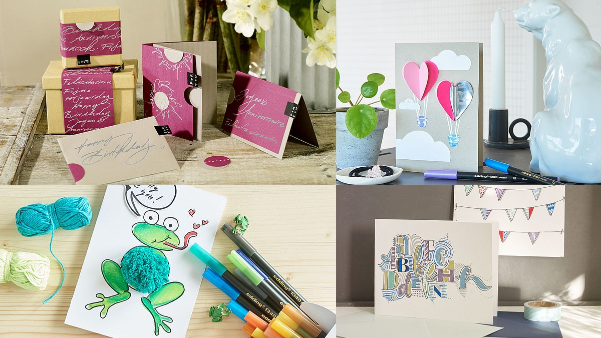 tarjetas de felicitacion personalizadas hechas a mano