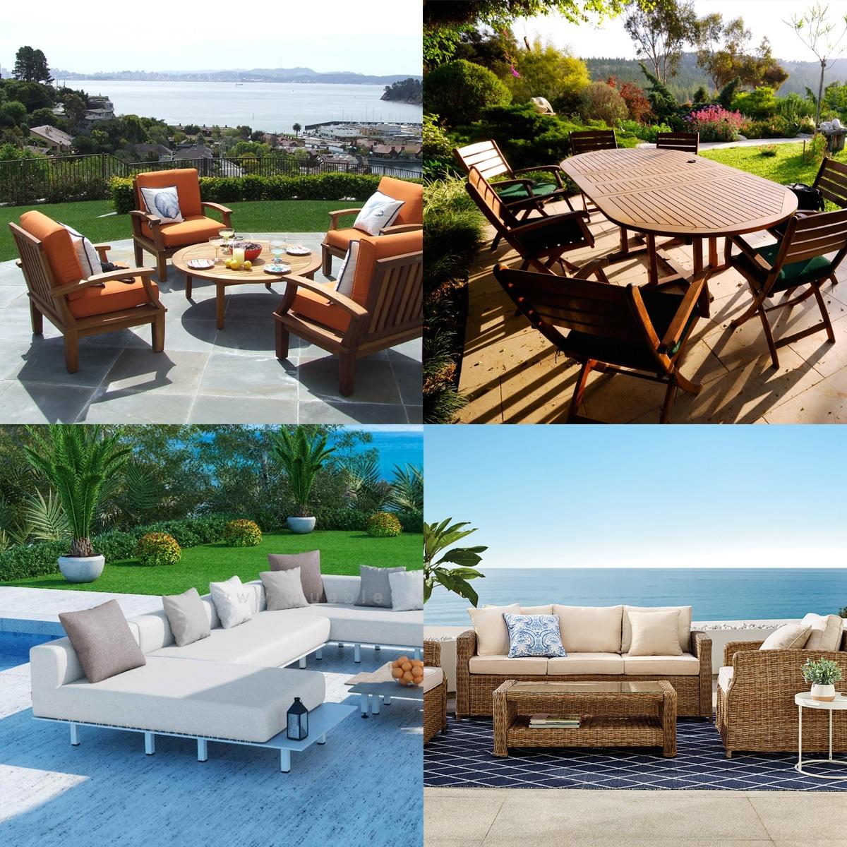 muebles de jardin patio terraza