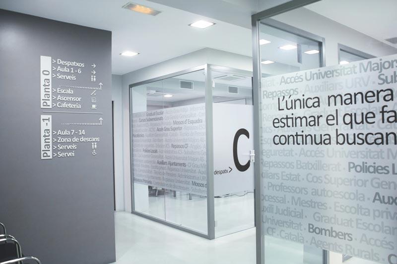 oficinas prefabricadas de interior