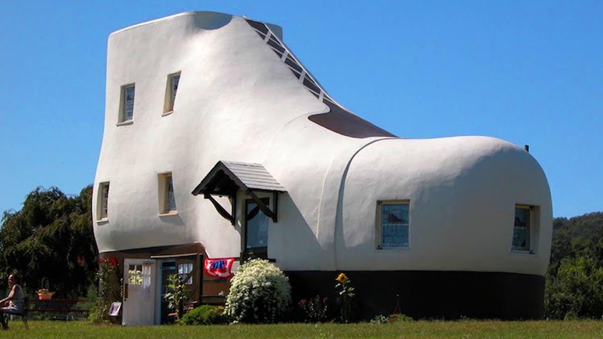 Casa-zapato Pensilvania Estados Unidos