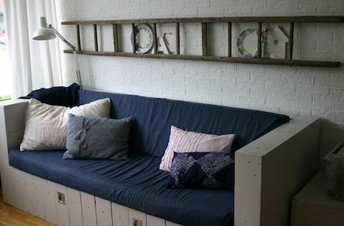 usos diferentes para escaleras en la decoracion organizacion salon