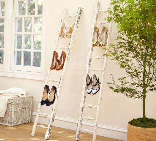 usos diferentes para escaleras en la decoracion zapatero