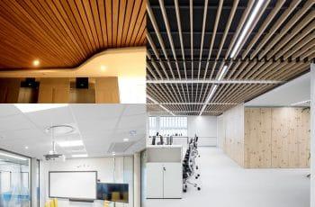 tipos de techos falsos para instalar en casas y oficinas
