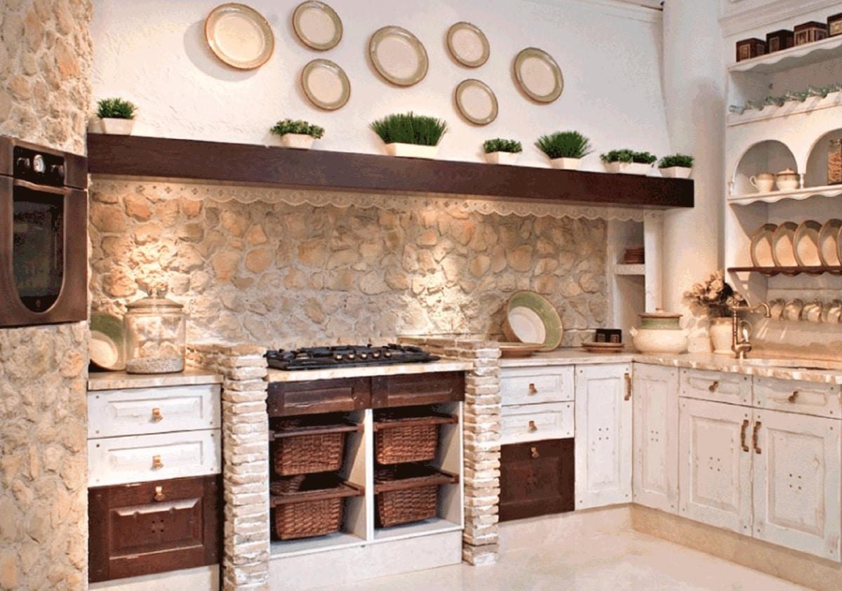 cómo crear tu cocina rústica