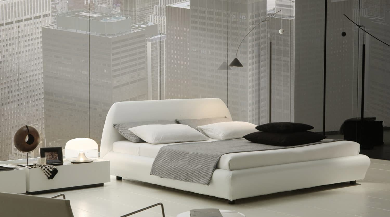 dormitorio matrimonio minimalista