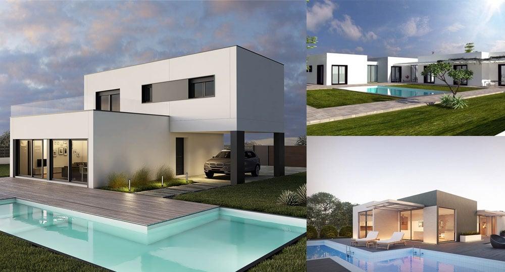 casas prefabricadas de hormigon modernas precios y modelos