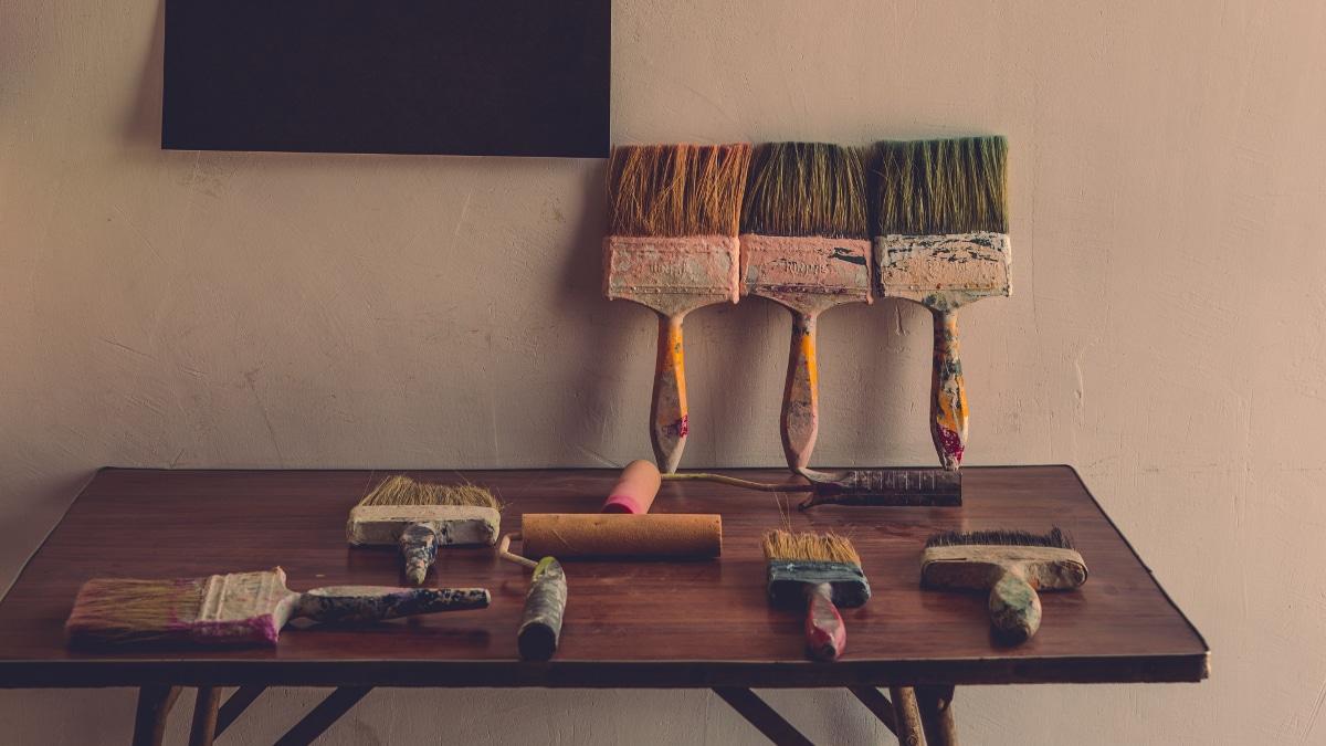 pintar las paredes de casa