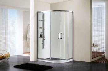 Cómo aprovechar mejor el espacio: platos de ducha semicirculares
