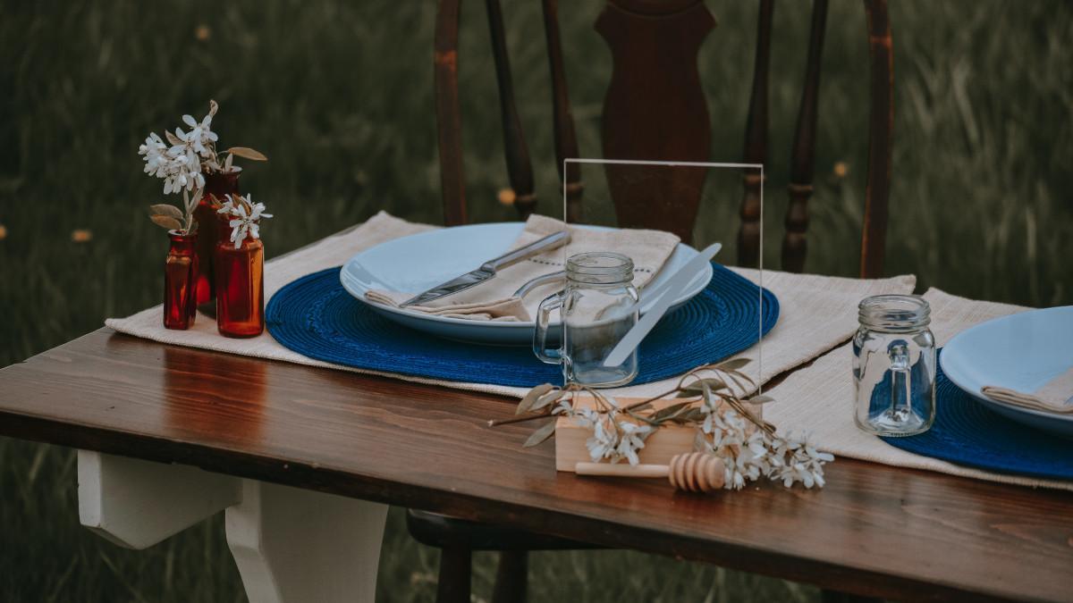 ideas para decorar mesa de invitados