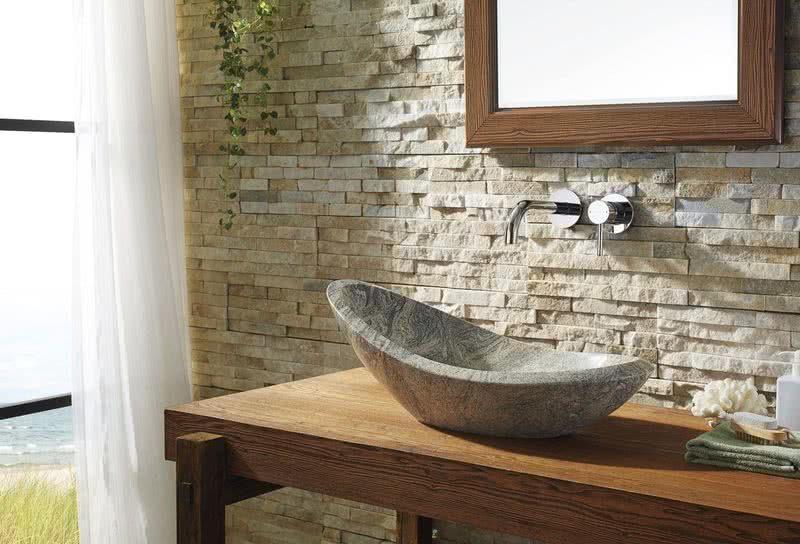 Piedra natural para revestimientos de baños