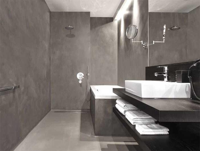 Microcemento para revestimientos de baños