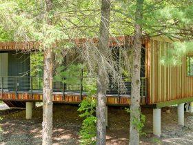Eficiente y económica, así es la casa prefabricada de 90 m²