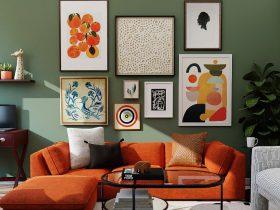 Tips para decorar las paredes de tu casa con cuadros