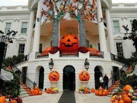Casa decoración halloween
